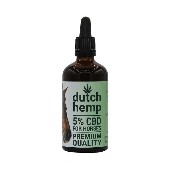 CBD-olie Dutch Hemp 5% – 100 Ml (paarden) – 5000 Mg CBD