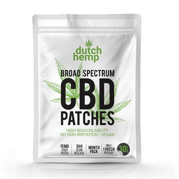 CBD-pleisters Dutch Hemp – 450 Mg