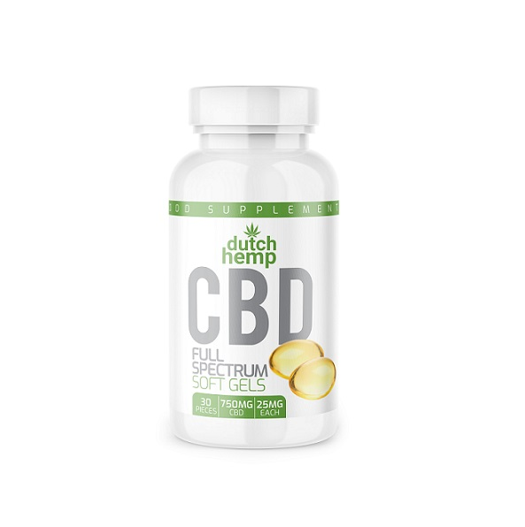 Cbd capsules 750 mg Dutch Hemp