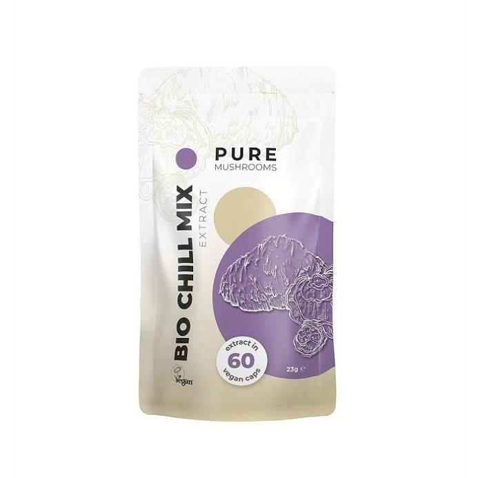 Paddenstoel Capsules – Pure Mushrooms – Bio Chill Mix