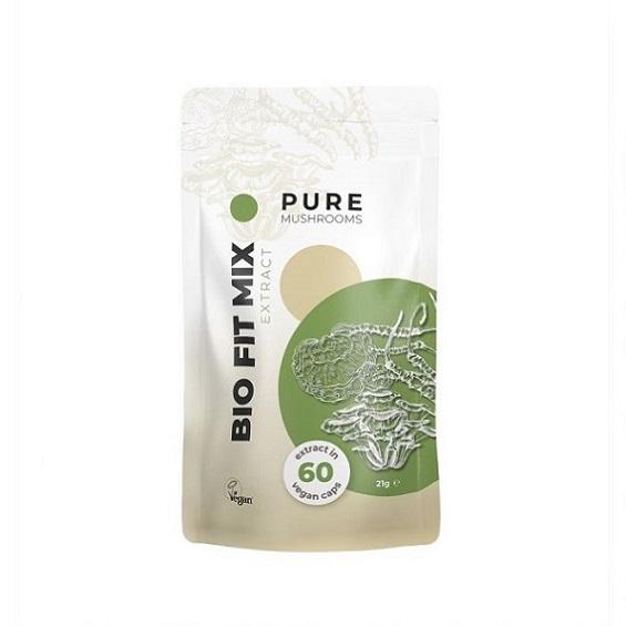 Paddenstoel capsules Pure mushrooms Bio Fit Mix