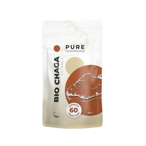 Paddenstoel Capsules – Pure Mushrooms – Chaga