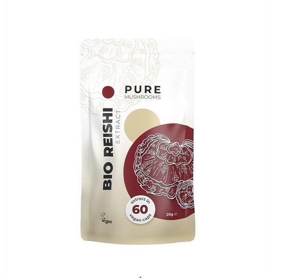 Paddenstoel Capsules – Pure Mushrooms – Reishi
